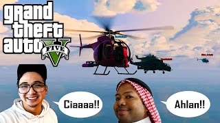 GTA 5 Online NGAKAK ABIS! (34) RUSUH BARENG YOUTUBER!! HAHAHA (ft. Edho Zell & Usamah Duo Harbatah)