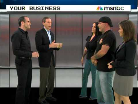 Michael Port on MSNBC&#039;s Your Business with JJ Ramberg
