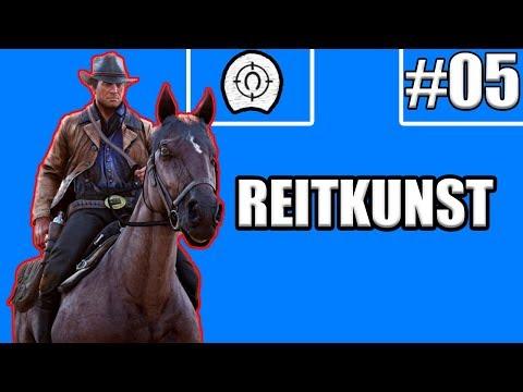 Reitkunst Herausforderung Red Dead Redemption 2 - #05 Tiere mit Pferd zertrampeln