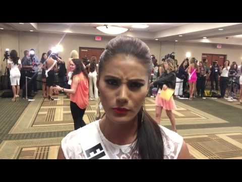 Miss El Salvador 2014 Patricia Murillo Interview at the Miss Universe 2014 Press Junket
