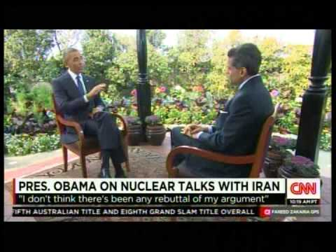 Pres.Obama on Nuclear Talks with Iran & Netanyahu .