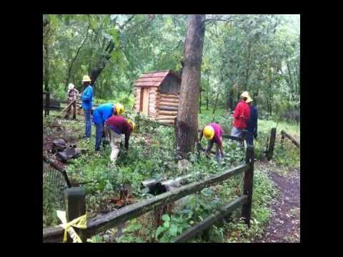 Sand Ridge Crew 2012 -- SCA, Chicago & Friends of the Forest Preserves.wmv