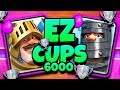 2X PRINCE TROPHY DECK In CLASH ROYALE    6000 TROPHY PUSH