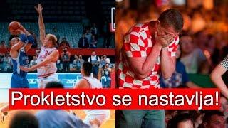 Prokletstvo se nastavlja...Srbija - Hrvatska, Košarka