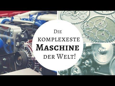 Technik der Superlative - Die komplexeste Maschine der Welt!