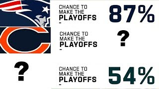What is Every Team's Chance to Make the Playoffs Heading into Week 7?