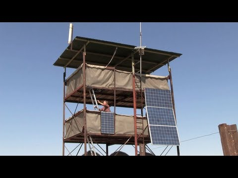 Stanford scientists build solar-powered elephant research camp