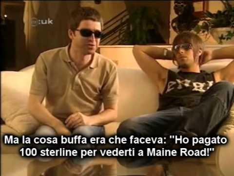 Intervista divertente a Liam e Noel Gallagher (sottotitoli ITA) (CD:UK 2002)
