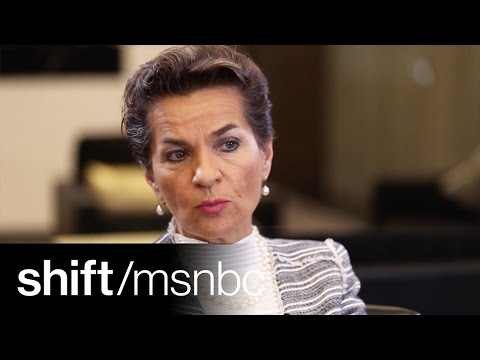 Christiana Figueres: 'Climate Change Is About The Fate Of Humanity' | shift | MSNBC