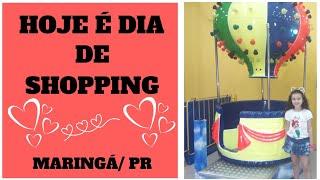 PASSEIO PELO SHOPPING CENTER MARINGÁ/PR