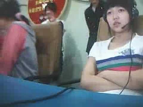 translated: China girl mocking at Si Chuan victims