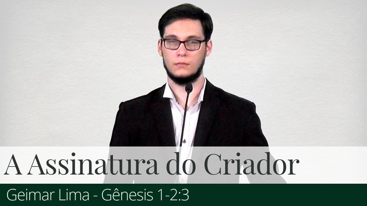 A Assinatura do Criador - Geimar Lima