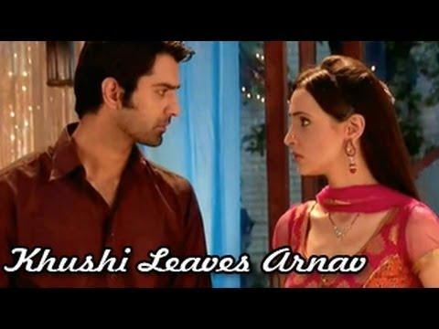 Khushi LEAVES Arnav & Raizada House in Iss Pyaar Ko Kya Naam Doon 23rd July 2012