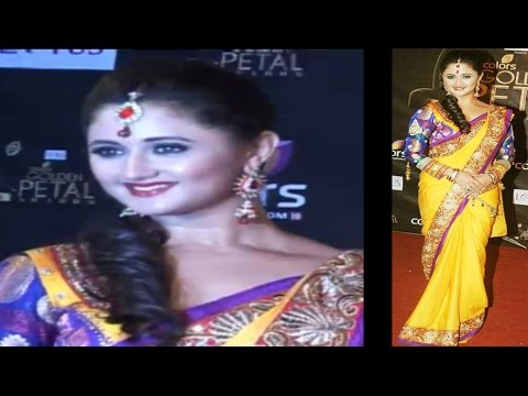 Rashmi Desai - Colors Golden Petal Awards Are Special video