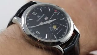 Jaeger LeCoultre Master Moon 140.8.98.S Luxury Watch Review