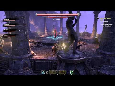 The Elder Scrolls Online #34 - Прохождение Veteran Crypts of Hearts