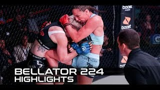 Bellator 224 Recap: Julia Budd retains belt with quick TKO