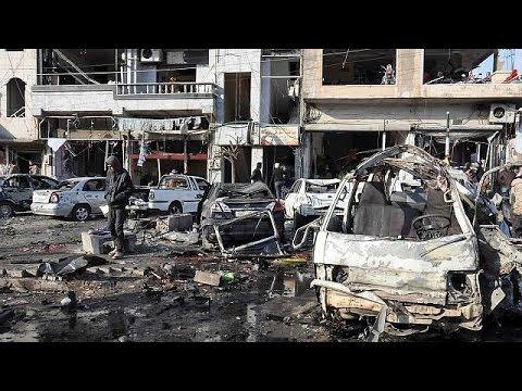 Syrie : au moins 46 morts dans un double attentat à Homs selon l'Observatoire syrien des droits…