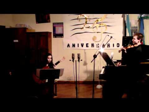 Carlos Guastavino - La Siempre Viva (versión en violín y guitarra)