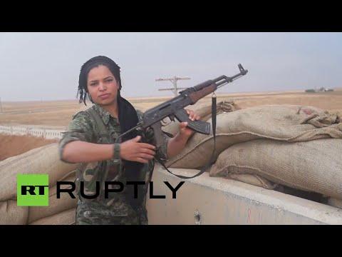 'Hermanas en armas' kurdas, listas para acabar con el Estado Islámico