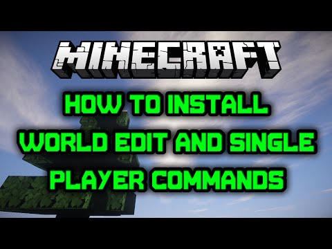 Minecraft SPC and World Edit Install Tutorial (1.6.2)