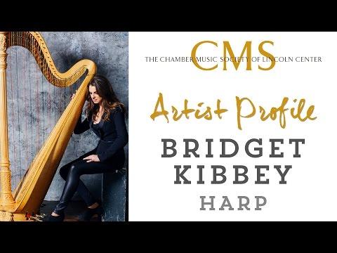 Bridget Kibbey, harp - October 2014 CMS Artist Profile
