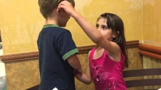 Brother Sister little love #hugsandkisses