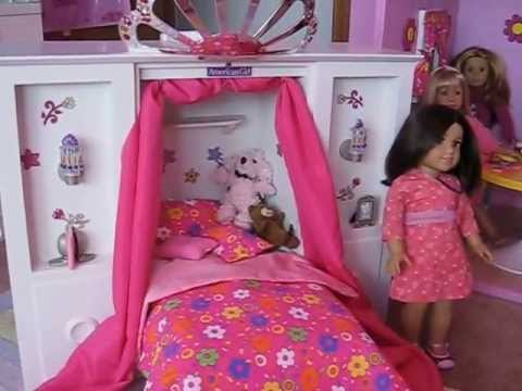 American Girl 3 In 1 Murphy Bed Review YouTube