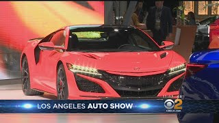 Latest, Greatest, Greenest Cars Go On Display At LA Auto Show