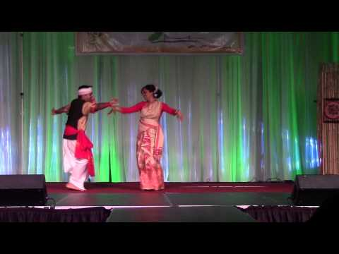 Assam Convention 2013 Detroit - Bihu Dance By Anjana & Krishna video