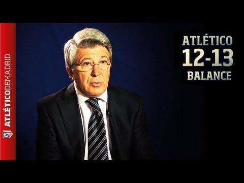 El presidente Enrique Cerezo hace balance sobre la temporada 2012-13 del Atlético de Madrid
