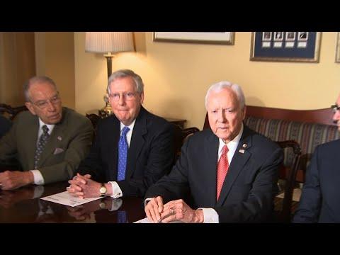 Senators Announce GOP Tax Plan