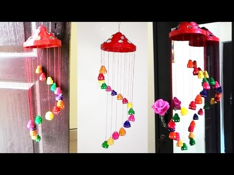 How to make wind chimes wind chimes materials for Waste paper wall hanging