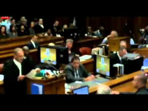 Oscar Pistorius Trial. Day 1. Part 1