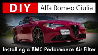 DIY Alfa Romeo Giulia: Installing a BMC High Performance Air Filter
