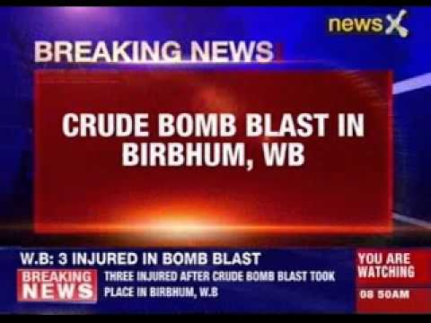 Crude bomb blast in Birbhum, West Bengal