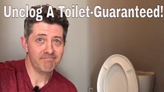 Unclog A Toilet-3 Different Ways Guaranteed!