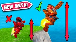 *SUPER OP* JUMP 10X FARTHER IN B.R.U.T.E!!– Fortnite Funny Fails and WTF Moments! #638