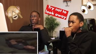 Try NOT To Look Away Challenge With My Little Brother