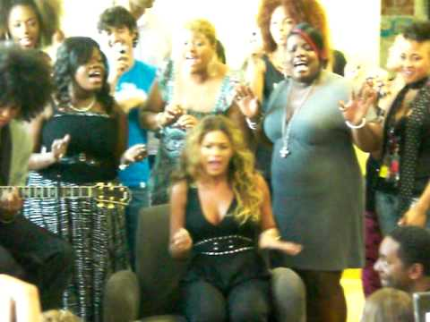 Beyonce singing Radio at National University Hospital, Singapore