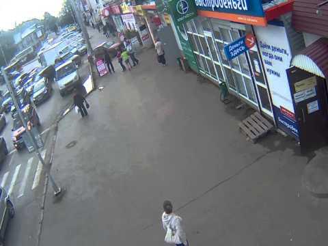 ДТП с автобусом 27-08-2014 17-53 1905 года-Смирнова