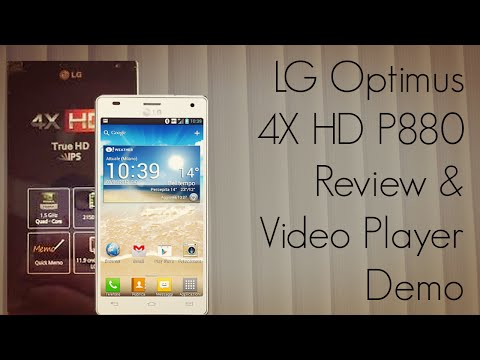 LG Optimus 4X HD P880 Review Video Player Demo Camera Features & Quick Memo App