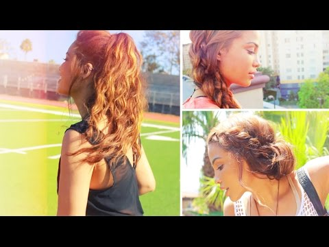 Simple Back to School Hairstyles!