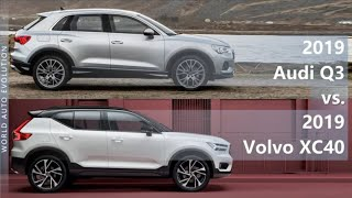 2019 Audi Q3 vs 2019 Volvo XC40 (technical comparison)