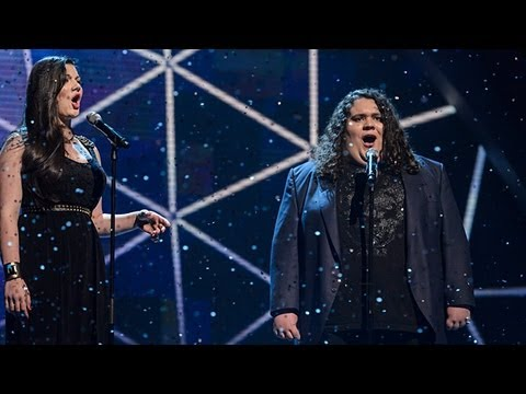 Jonathan and Charlotte - Britain's Got Talent 2012 Live Semi Final - UK version