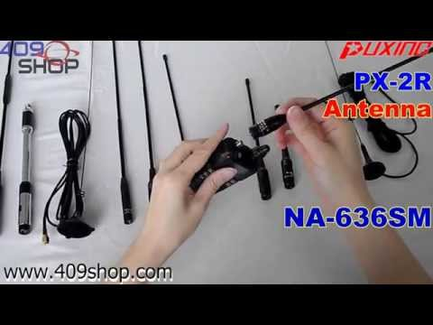PUXING PX-2R UHF 400-470Mhz Small Radio Antenna