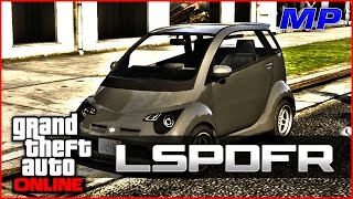 GTA Online - LSPDFR - Chased in a Smart Car (I Run)