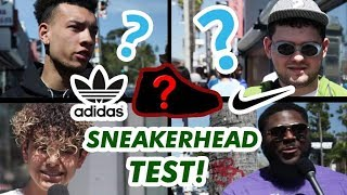 DO SNEAKERHEADS KNOW ANYTHING ABOUT SNEAKERS? | Fung Bros