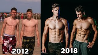 Amazing Body Transformation by 2 Brothers | Calisthenics & Gym
