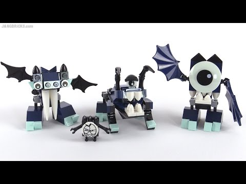 LEGO Mixels Series 4: All Glowkies reviewed!